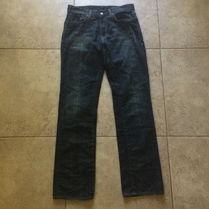 RALPH LAUREN Dark Jeans Straight Men's 29 x 32